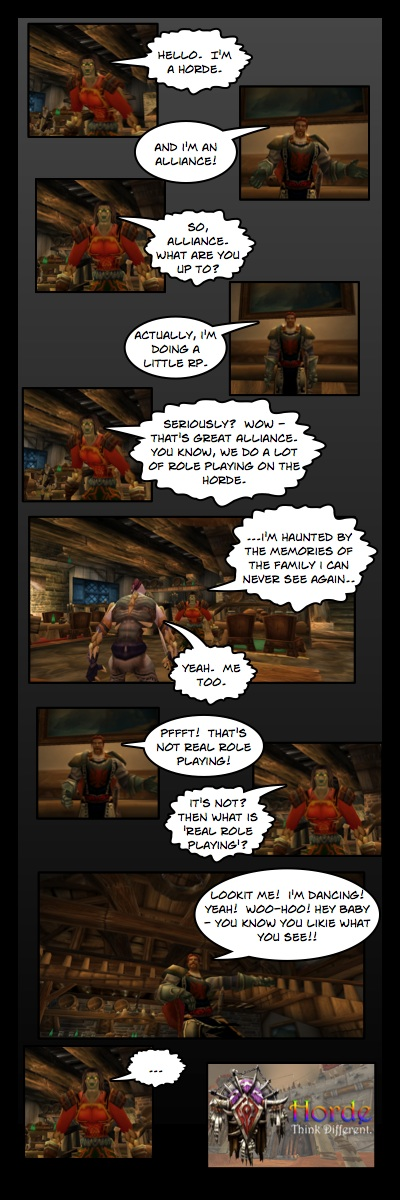 Caption Fun Friday: Horde Vs Alliance