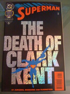 The Death of Clark Kent