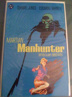 Martian Manhunter: American Secrets