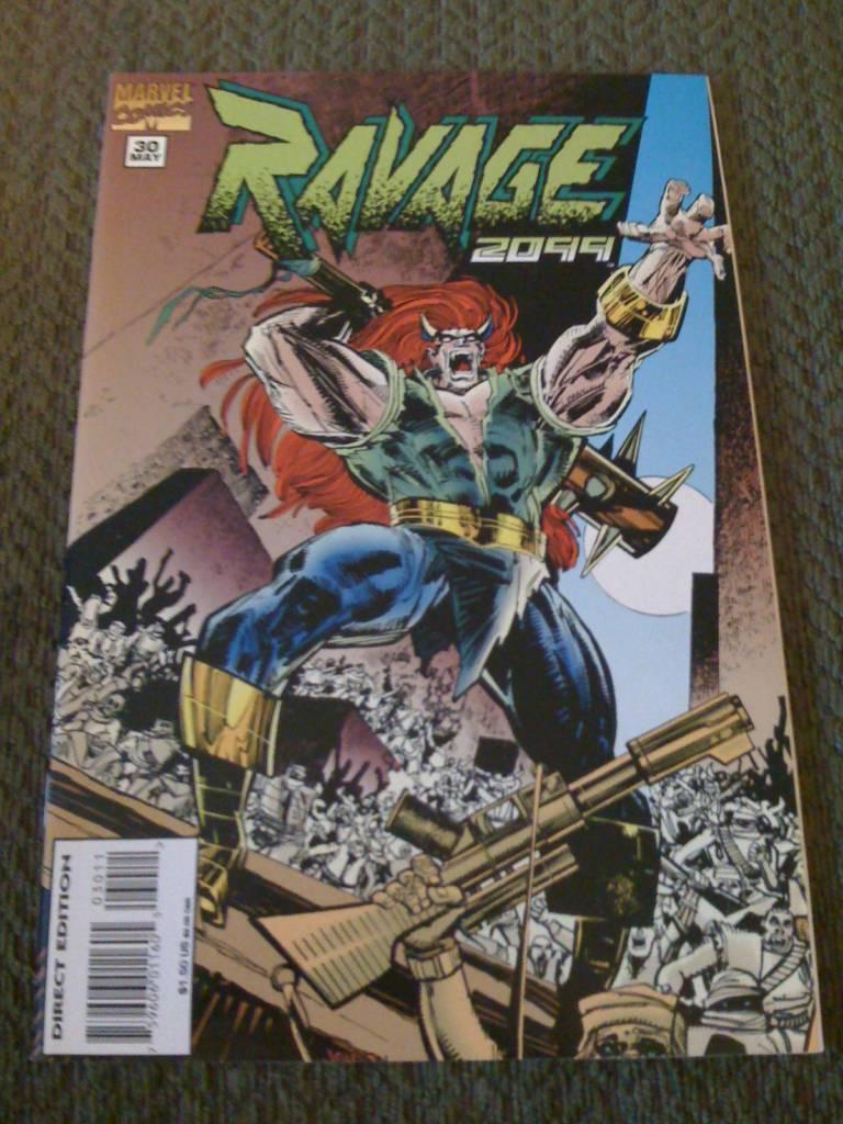 Ravage 2099: Beast Form!