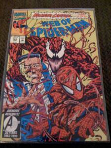 Spider man maximum carnage comic full set