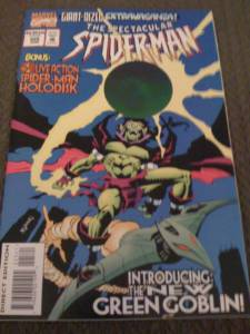 Spectacular Spider-Man #225 'The New Green Goblin!'
