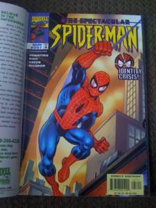 When you flipped the cover on the above image, you saw the Spidey version of the cover