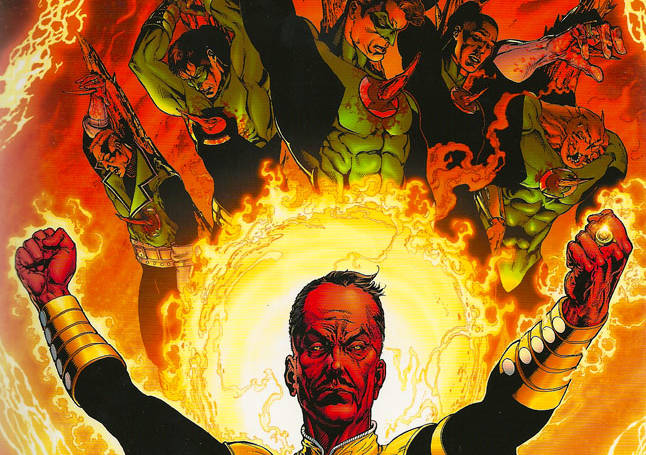 Review: Green Lantern-The Sinestro Corps War