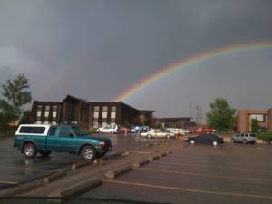 Photo Tuesday: Double Rainbow