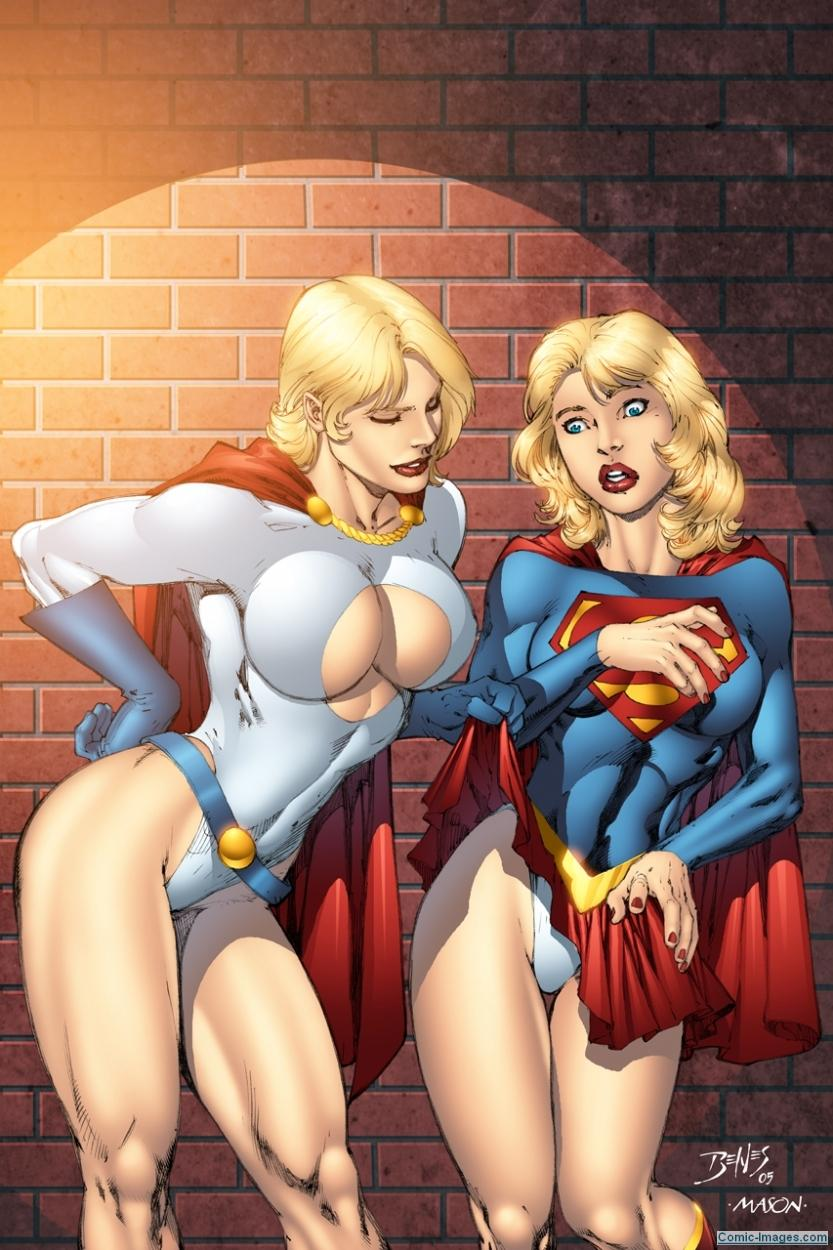 Powergirl Supergirl Sexy