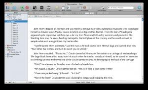 Scrivener Short Story Consumption