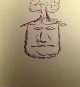 Wednesday Doodle: Treehead Guy