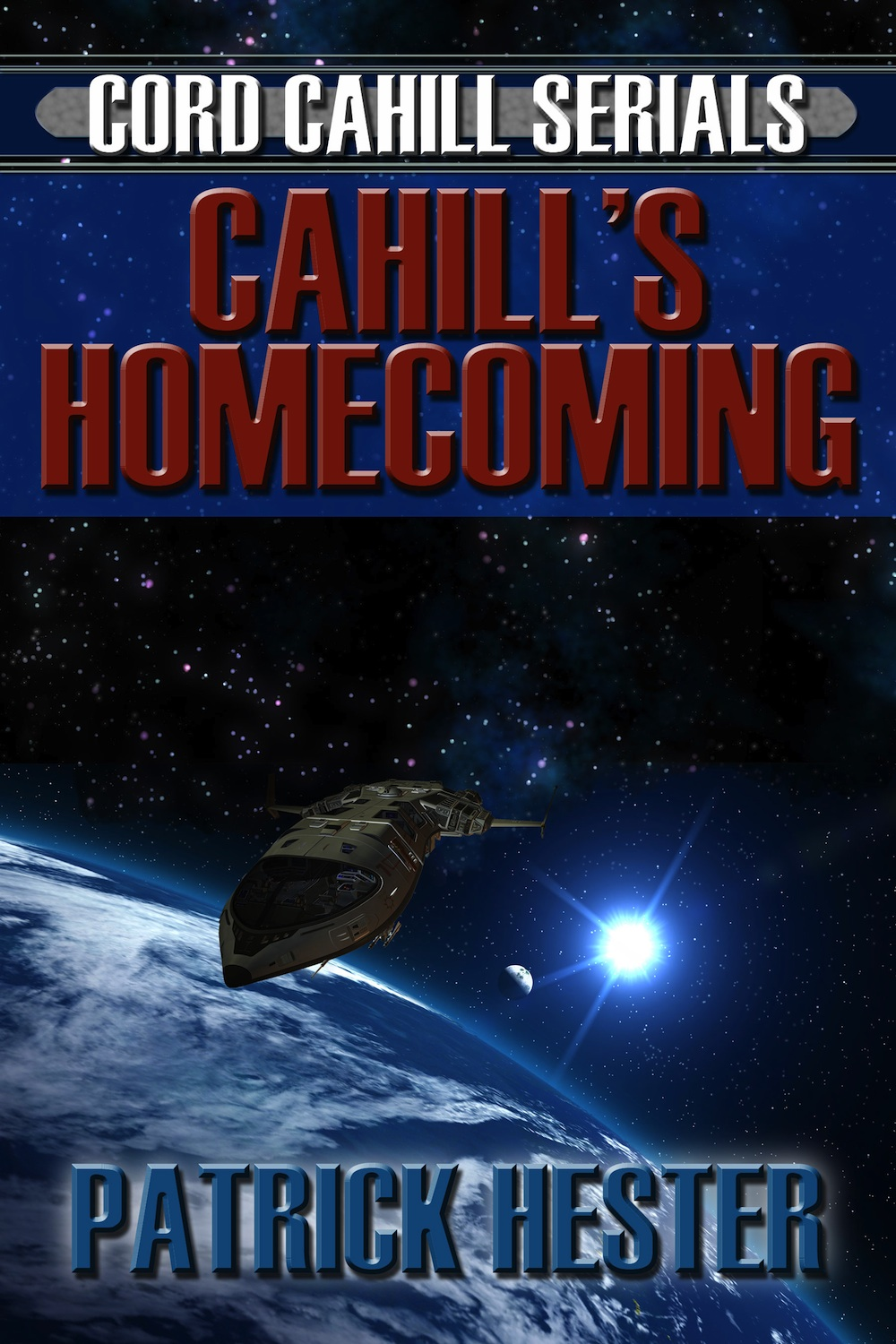 Cover Reveal: Cahill's Homecoming