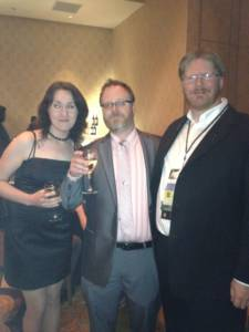 Me Chuck Wendig and his wife (name withheld simply because i don't have her permission to add it)