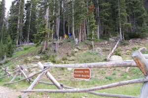 Two dumbass guys climbing in a reclamation area of Rocky Mountain National Park, July 2014