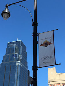 MidAmericon 2 / WorldCon Kansas City street sign