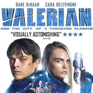 Friday Flick: Valerian and the City of a Thousand Planets