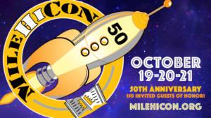 MileHiCon 50 Logo