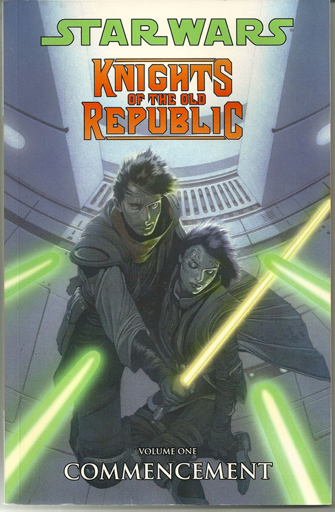 Review: Knights of the Old Republic Vol 1-Commencement