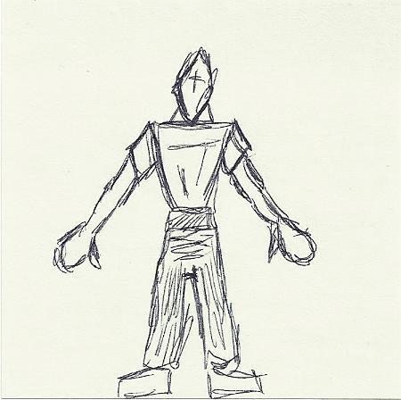 Wednesday Doodle: Framework Bi-Ped