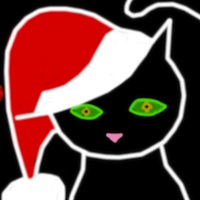 Wednesday Doodle: A Holiday Greeting from Shadow The Cat