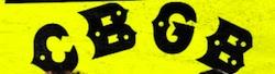 Friday Flick: CBGB